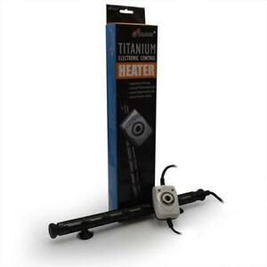 HMA 500 Watt Titanium Heater w/Controller (100-120 Gallon) - Finnex