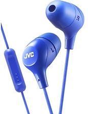 JVC HAFX38MA Marshmallow Earphones Mic & Remote Blue - Electronics