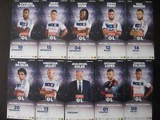 Olympique Lyonnais 21 cartes club