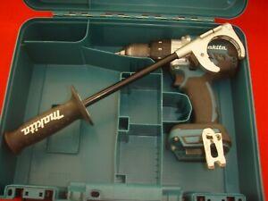 Makita DHP481, 2 Speed Combi Hammer Cordless Drill.18v.& Carry case