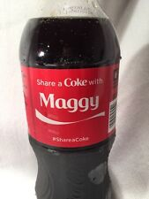 2015 Share a COKE with MAGGY Collectible 20 Oz Bottle Coca-Cola Name