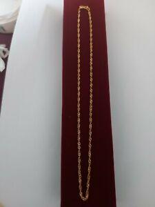 Stunning 22ct/22k gold chain 3.8g Hallmarked