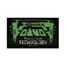 Voivod Killing Technology Patch Album Logo Heavy Metal Woven Sew On Applique