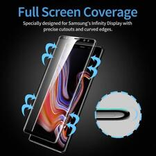 Full 3D Curved Tempered Glass Film Screen Saver For Samsung Galaxy Note 9 Black