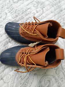 Blue LL Bean Boots 7M