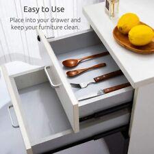 4 Rolls Shelf Liner Non-Slip transparent cabinet mat drawer mat kitchen bedroom