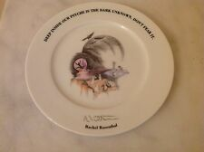 Tribute 21 Foundation Felissimo Collector Plate Rachel Rosenthal Japan