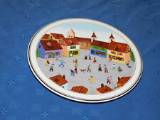 Villeroy & Boch Design Naif Old Village Square raised bot serving tray hot plate