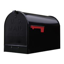 Gibraltar Jumbo Post Mount Mailbox Galvanized Steel Extra Large Rural Mail Box
