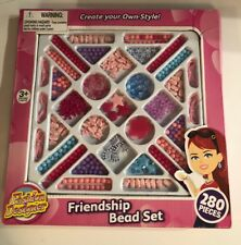 Friendship Bead Set Create Your Own Style Jewelry 280 Pieces Fashion Designer