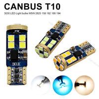 T10 LED 3030 12-SMD Canbus No Error 194 168 720LM Car Side Wedge Light Bulbs 12V