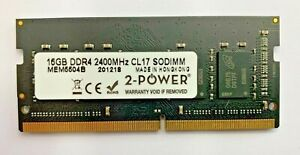 2-Power-16GB DDR4 2400MHz CL17 SODIMM