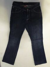 Divided by H&M Jeans Hose Schlaghose Dunkelblau Stonewashed W28 L32