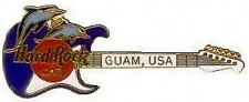 Hard Rock Cafe GUAM USA 1998 Dolphins Jumping on GUITAR PIN - HRC Catalog #2664