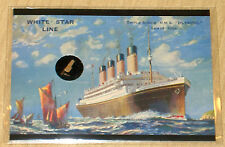 2012 Cult-Stuff RMS Titanic ARTIFACT artifacts WOOD card from RMS Olympic stairs