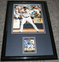 Corey Hart Signed Framed 11x17 Photo Display Brewers