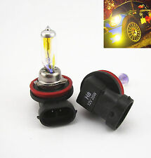2 PCS H8 3000K GOLDEN YELLOW 35W XENON HID HALOGEN LIGHT BULBS FOG LIGHT