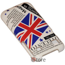 Cover English Flag UK Vintage For Samsung Galaxy S i9000 rigid