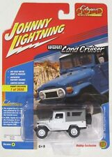 JOHNNY LIGHTNING CLASSIC GOLD 1980 TOYOTA LAND CRUISER WHITE VERSION A 1 of 3600