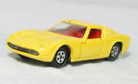 MATCHBOX SUPERFAST - SF-033A VER 1, LAMBORGHINI MIURA, YEL, RED INT JB2531