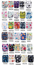 (10pcs Lot) ALVABABY Reusable and Washable Cloth Diaper with Microfiber Insert