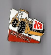 Pin's tracto pelle JCB Supertrac (EGF)
