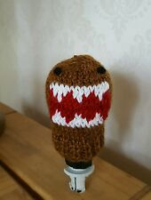 knitted gear knob hat in domo kun style STi ST RS SUBARU all