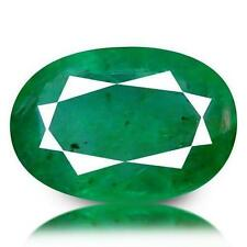 Oval Transparent Loose Natural Emeralds