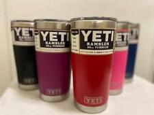 Yeti Rambler 20 oz , Stainless Steel Vacuum Insulated Tumbler  Magslider Lid