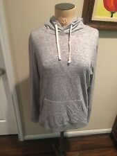 Abercrombie Fitch Women's Short Gray Hoodie Size S Small