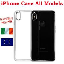 Thin Clear Silicone Case for iPhone 11 Pro MAX X XS XR 7 8 6 6S Plus Cover