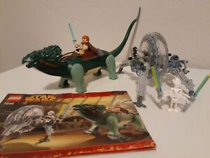 VINTAGE Star Wars LEGO 7255 General Grievous Chase *BOGA LIZARD NEEDS CLAWS* '11