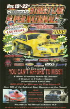 2009 Troy Coughlin Pontiac GXP Street Car Super Nationals Las Vegas handout