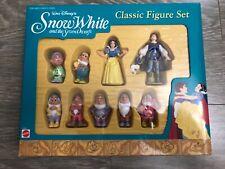 New Disney Snow White And The Seven Dwarfs Classic Figure Set Mattel 65985