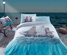 Double Cotton Box Ship 100% Cotton Duvet Cover Bedding Set in Box