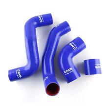 For LAND ROVER FREELANDER TD4 Silicone Intercooler Hose Kit Blue