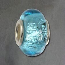 Collares y colgantes de bisutería turquesa de cristal