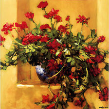 "Philip Craig ""Ivy Geraniums"" Fine Art Reproduction"
