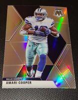 Amari Cooper 2020 Panini Mosaic Football SILVER PRIZM SSP Dallas Cowboys
