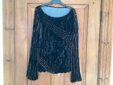Marks and Spencer ladies velvet top size 12/14