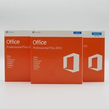 MicrosoftOffice 2016 Professional Plus For 1 PC - DVD Pack - Retail *Sealed*