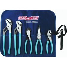 Channellock TOOL ROLL-3 5 Piece Pliers Set in Kit Bag
