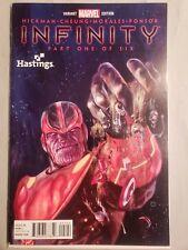 Infinity 1 Julian Totino Tedasco Hastings Variant Avengers Thanos 23 Capt Marvel
