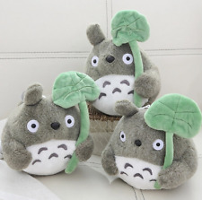 More details for my neighbor totoro and leaf soft plush toy (20/30 cm) studio ghibli