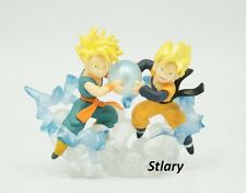 FIGURINE GOTEN ET TRUNKS Imagination 6 DRAGON BALL Z GASHAPON DBZ FIGURE FIGURA