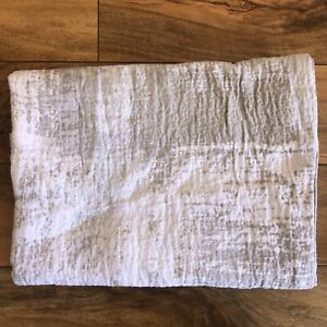 HOTEL COLLECTION Brushstroke STANDARD Pillow Sham Textured Beige $170.00
