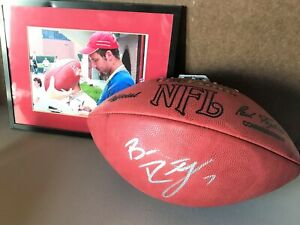 BEN ROETHLISBERGER signed / autographed NFL football PITTSBURGH STEELERS