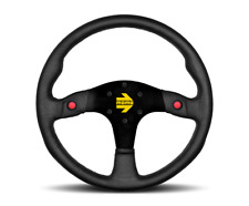 MOMO Steering Wheel Mod 80 Black Leather 350mm NEW