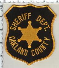 Oakland County Sheriff (Michigan)  Shoulder Patch  from 1990