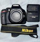 Nikon D5200 24.1MP Digital SLR Camera - Black (Body Only) - Low Shutter Count